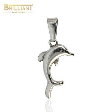 Prívesok chirurgická oceľ delfínik