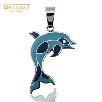 Prívesok delfín CHirurgicka ocel