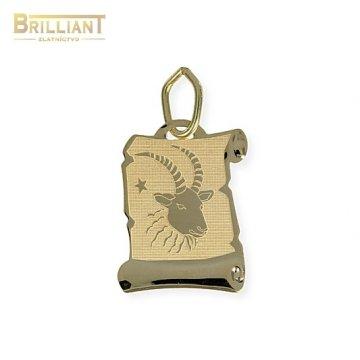 Zlatý Prívesok Au585/000 znamenie Kozoroh